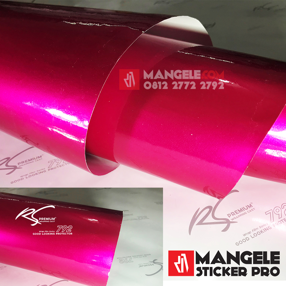 MCG-07 magenta chrome metallic gloss rs premium