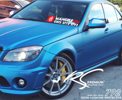 BCM-08 Sky Blue chrome metallic matte RS Premium wrapping