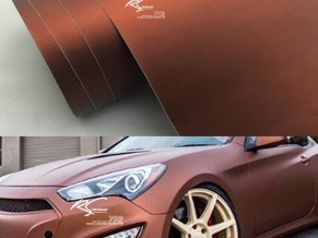 BCM-11 Brown chrome metallic matte RS Premium wrapping cast