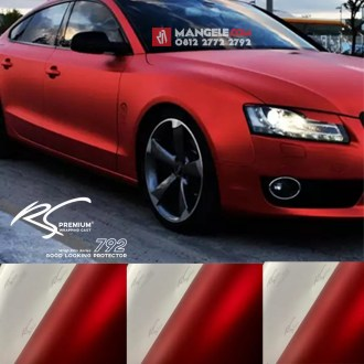 RCM-02 Red chrome metallic matte RS Premium wrapping