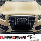 GCM-09 Soft Gold chrome metallic matte Rs Premium wrapping