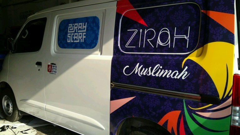 branding stiker mobil | granmax zirah muslimah | mangele stiker 081227722792