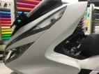 stiker mobil motor bandung pcx putih doff oracal mangele