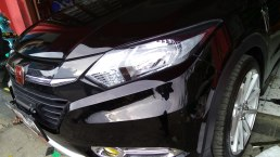 stiker mobil bandung bening hitam gloss transparan stiker lampu mangele