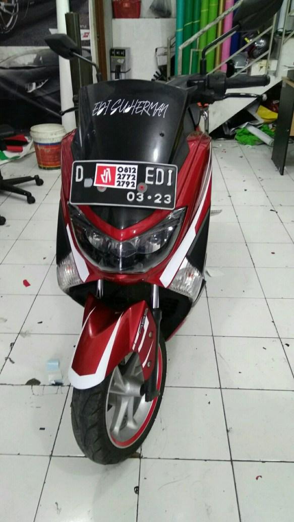 stiker mobil motor bandung cutting stripping motor nmax mangele