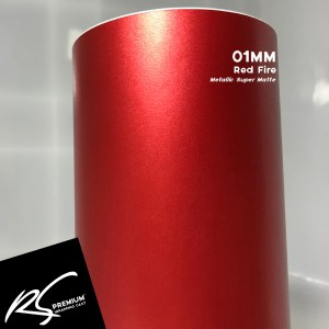 01MM Red Fire Metallic Super Matte