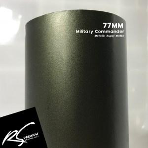 77MM Military Commander Metallic Super Matte