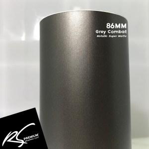 86MM Grey Combat Metallic Super Matte