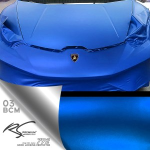 BMC-03 Blue chrome metallic matte