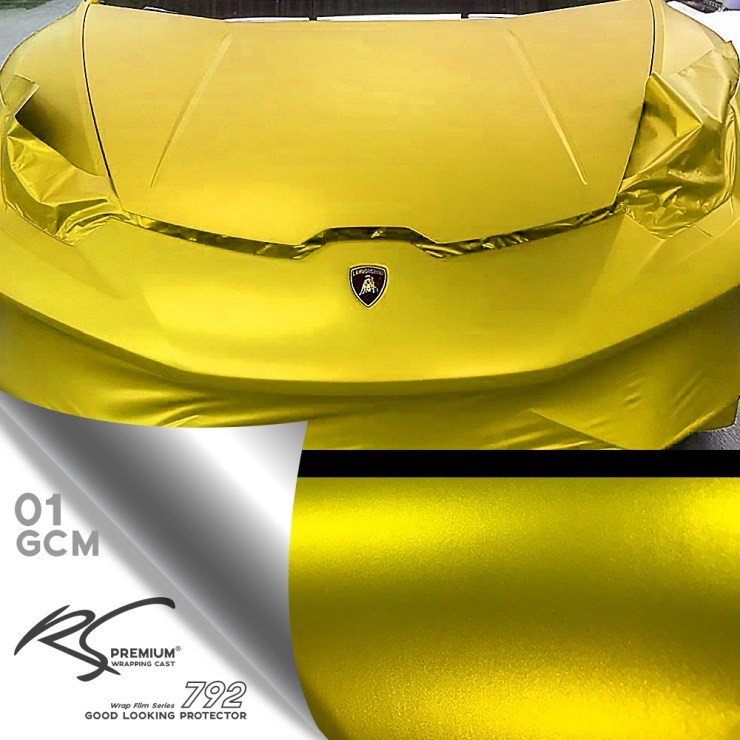 GCM-01 Yellow Gold chrome metallic matte