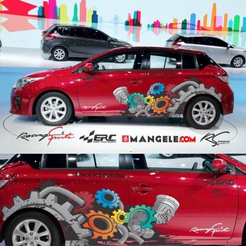 Polet Stiker Mobil Bandung