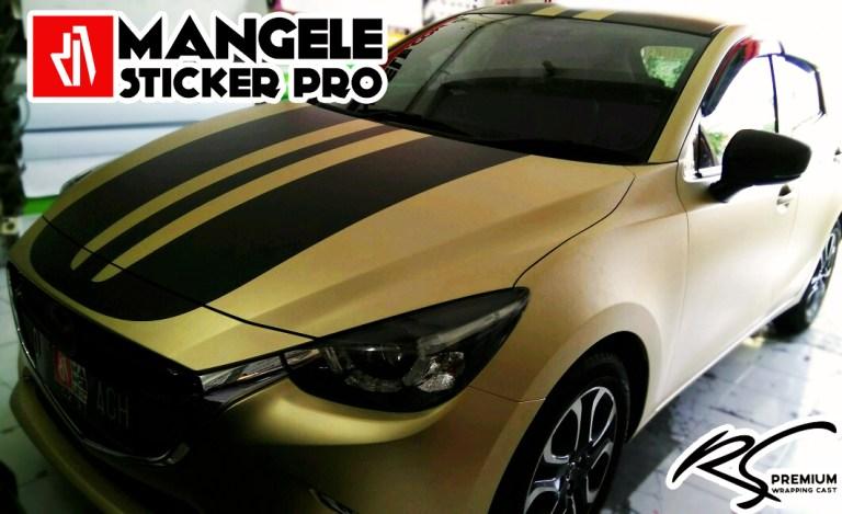 RS Premium Soft Gold Stiker Mobil Terlaris Mangele Bandung