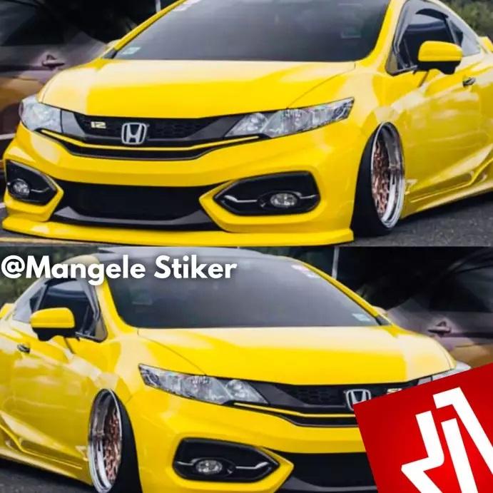 Visual Exclusive Dengan Mangele Sticker Mobil Premium Bandung
