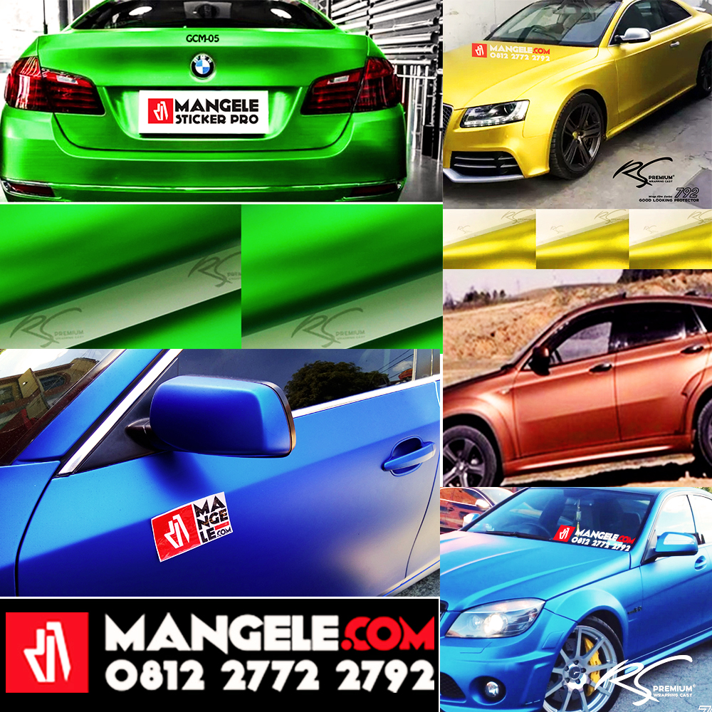 Wrap Your Car! Sticker Protection Premium Mangele Bandung