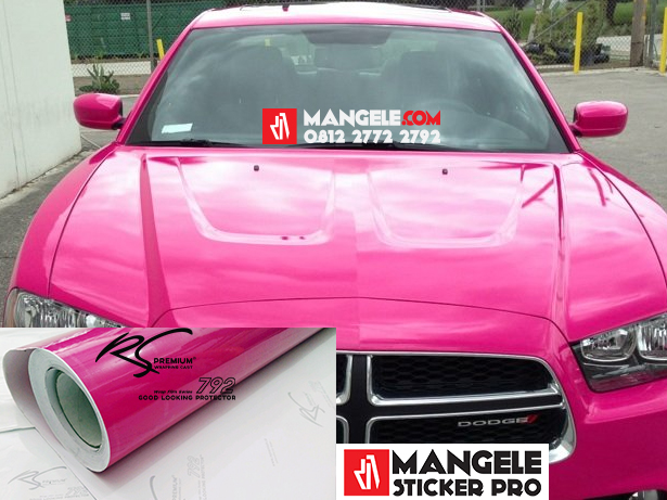 Car Wrapping Stiker Premium Super Gloss Series Mangele Bandung