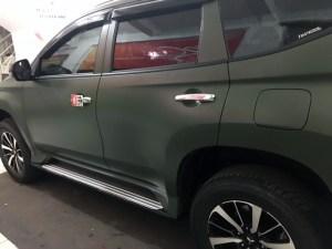 stiker mobil bandung mangele wrapping pajero hijau army premium sticker kualitas top