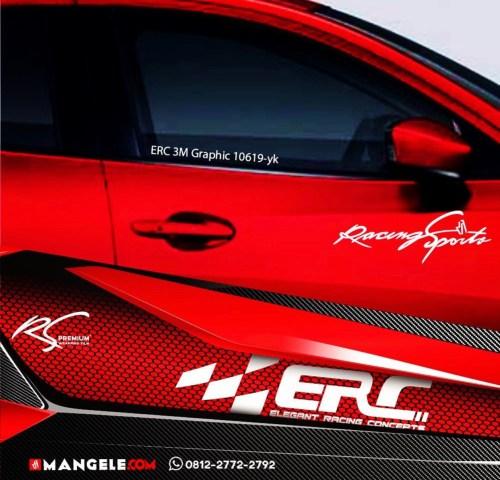 Stiker Mobil Racing Keren Mangele Sticker Pro