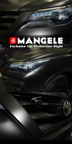 Mangele Exclusive Car Protection style Stiker Mobil Premium Bandung Wrapping Sticker