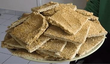 galette déshydratée au sarrasin