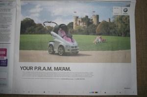 BMW PRAM April Fools 2013