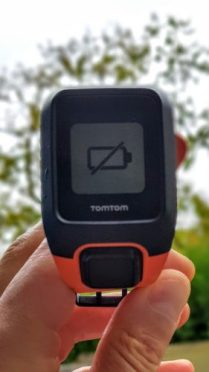 TomTom Adventurer autonomie