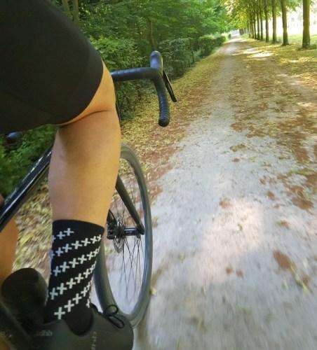 Chaussure de vélo à lacets