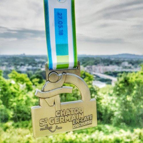 médaille paris-saint-germain-la-course-photo