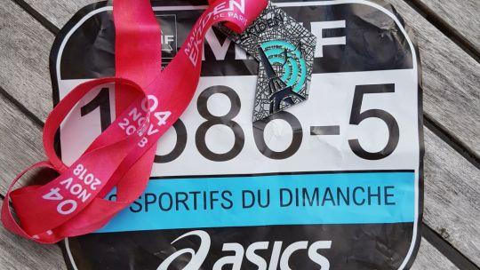 Les sportifs du dimanche à l'ekiden de Paris