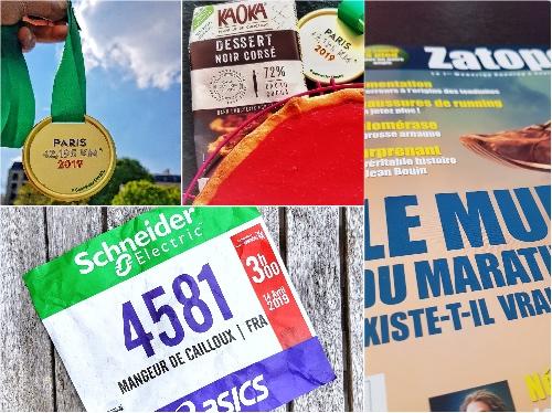 Retour sur le marathon de Paris 2019