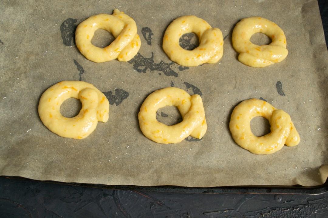 taralli doughs