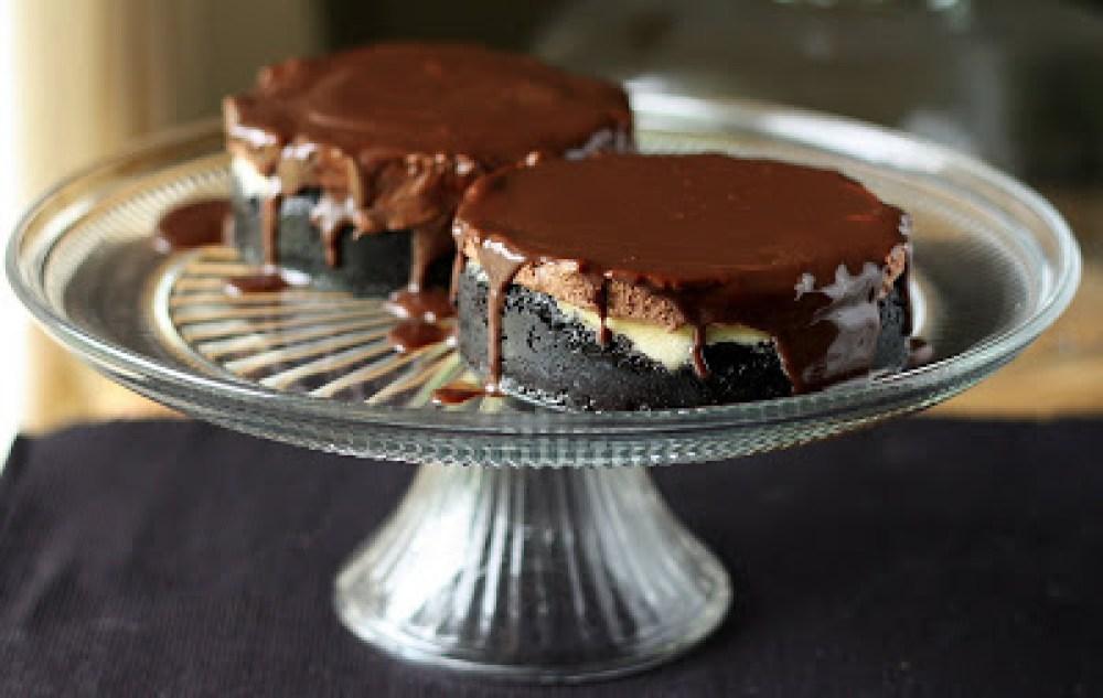 Mini choc cheesecake blog