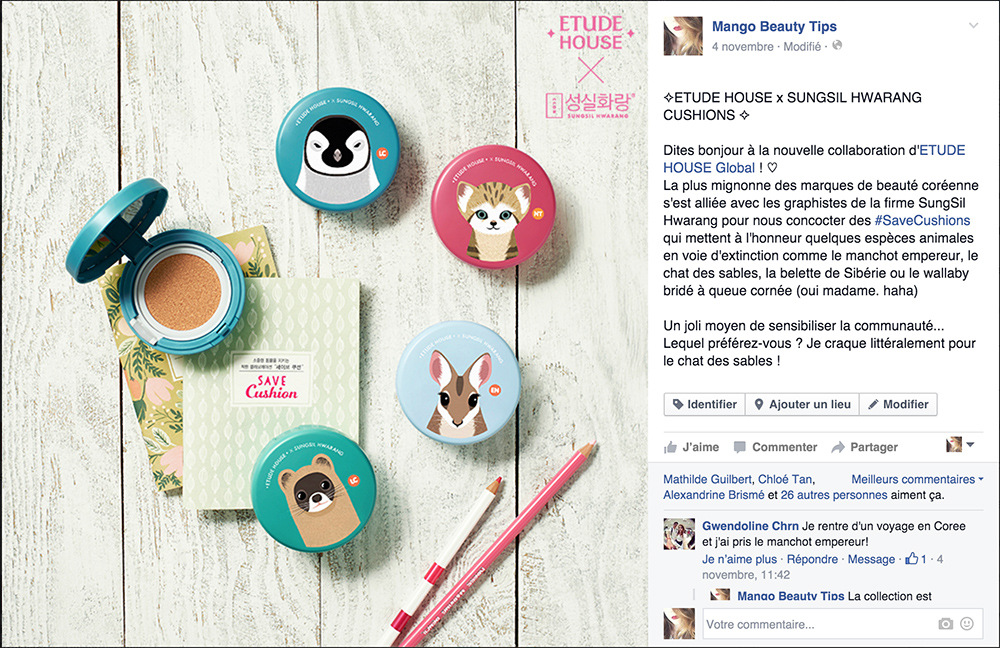 etude save cushion sungsil hwarang