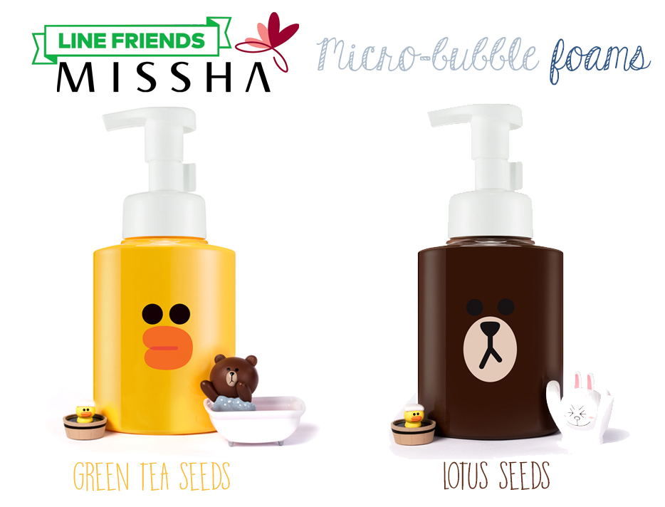 missha-line-friends-edition-foam