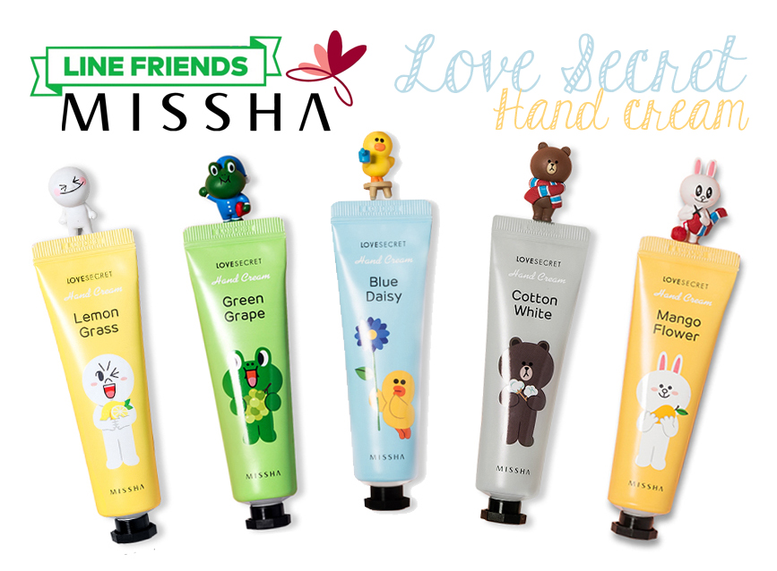 missha-line-friends-edition-lovesecret-handcream
