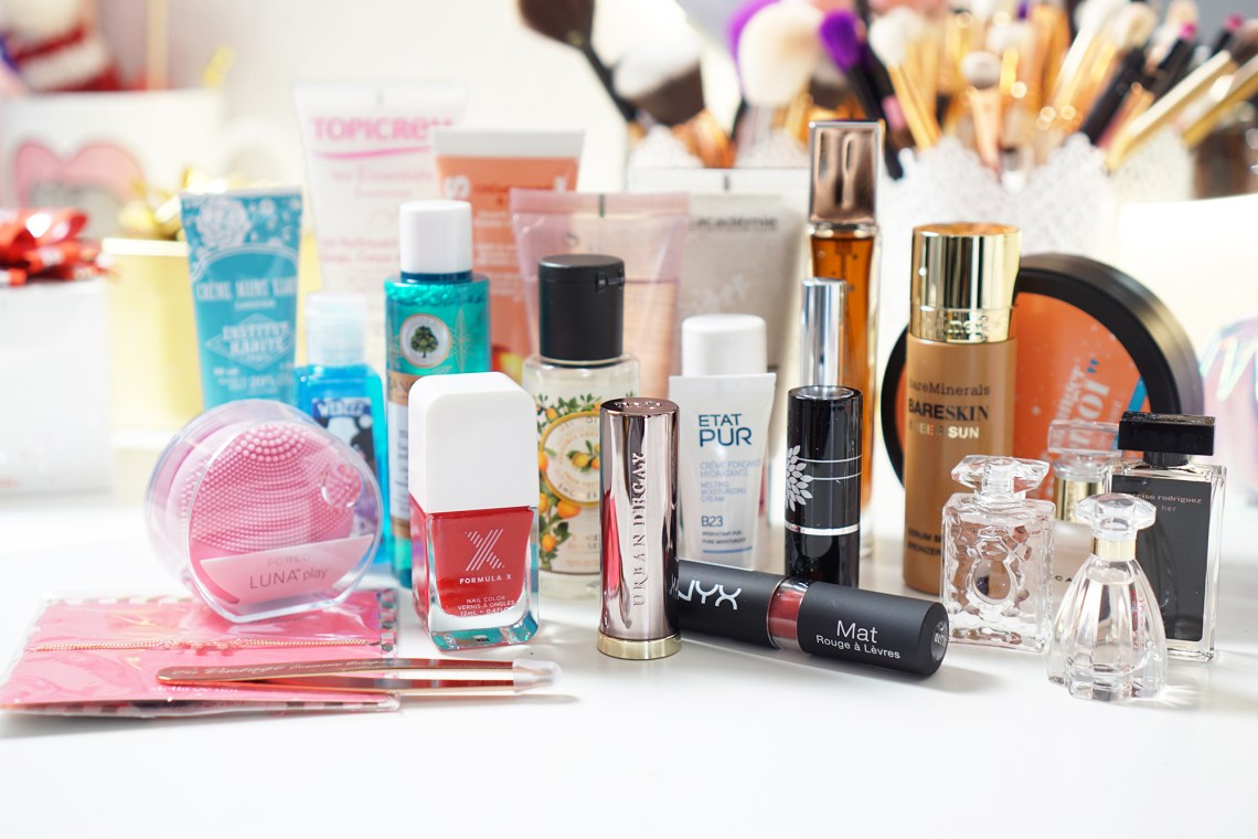 calendrier glossybox 2016