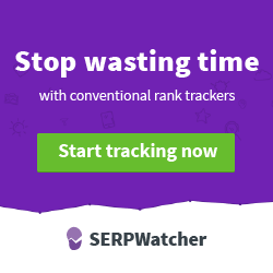 SERPWatcher - Stop wasting time with conventional rank trackers