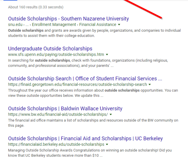 Scholarship Link Building Case Study