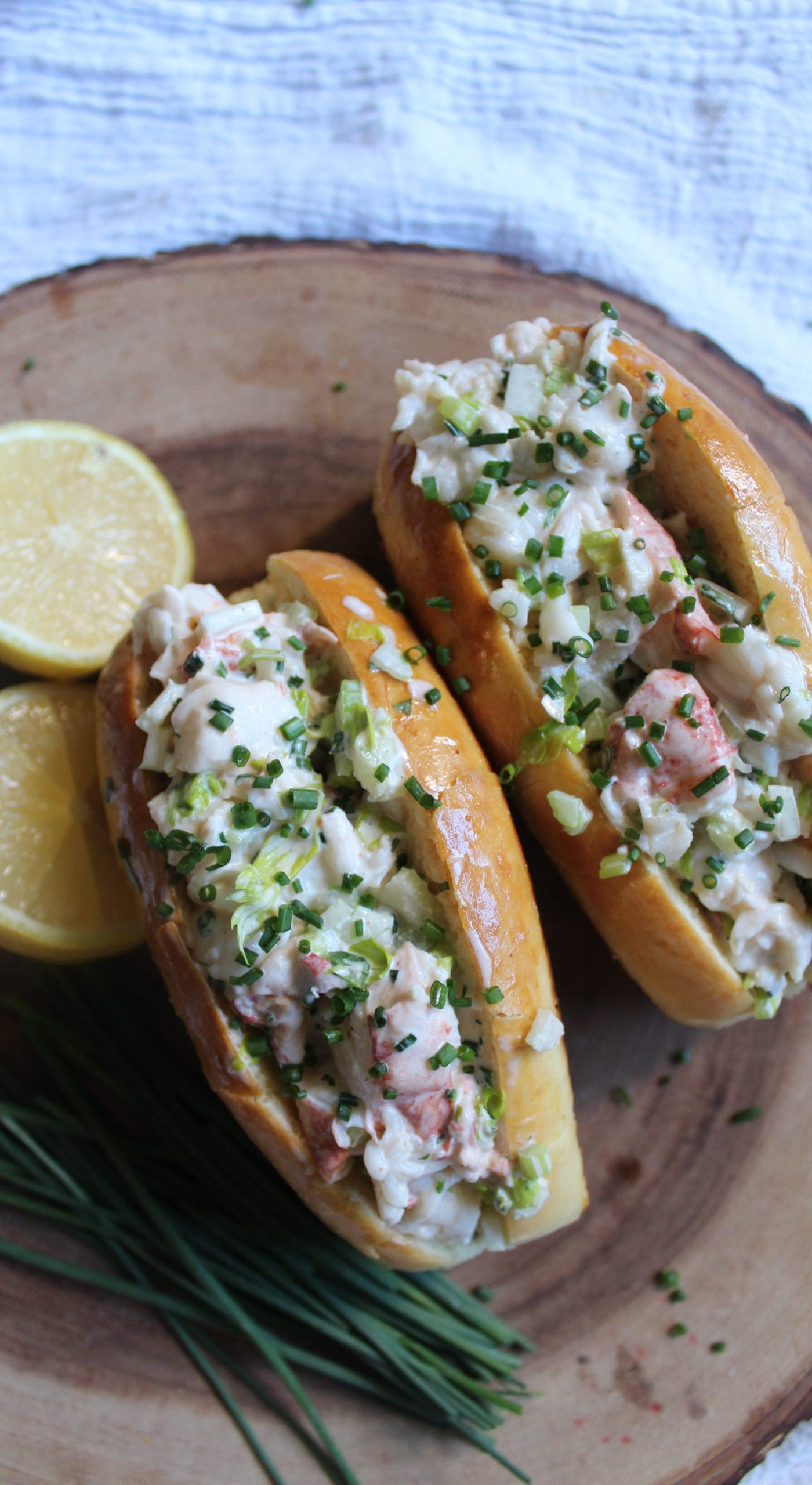 Lobster Roll With Homemade New England Hot Dog Bun Mango S Home Kitchen
