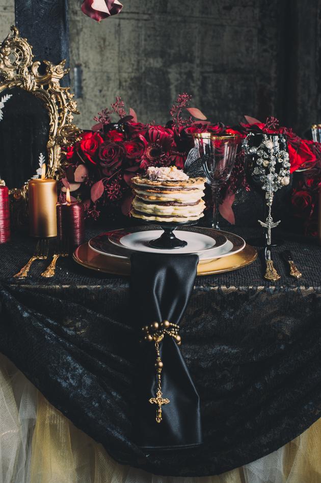 Alexander McQueen HighFashion Wedding Inspiration Shoot