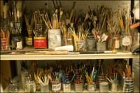 A Little Bohemian Art Studio For Me | mangotangerine