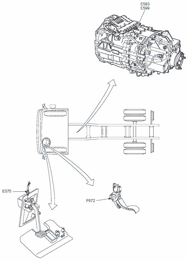 DAF XF95, CF75, CF85, XF105 подборка электрических схем