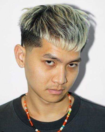 Blonde Asian Man : blonde, asian, Asian, Hairstyles, Haircuts