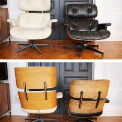 Fake Eames Chair Office La Z Boy Real Vs The Lounge Manhattan Nest This Is A Pretty Standard Issue With Knock Off Furniture Getting Proportions All Wrong One Of Many Things S