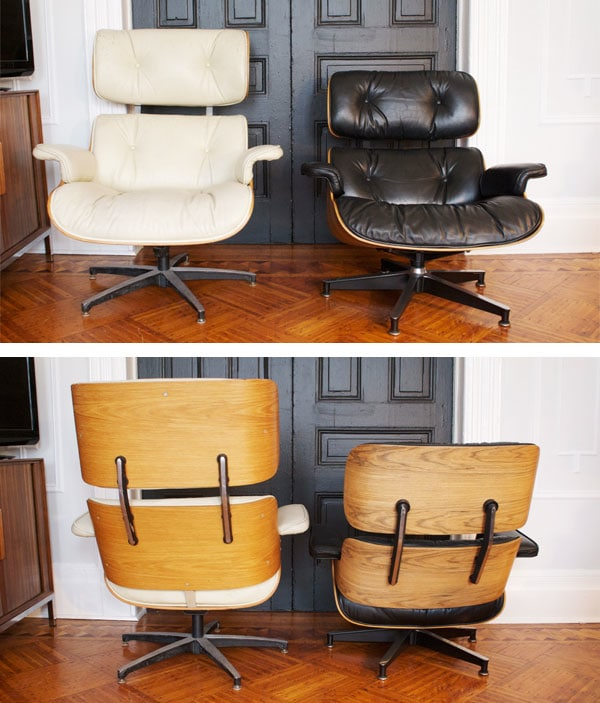 selig eames chair folding table and chairs walmart real vs fake the lounge manhattan nest this is a pretty standard issue with knock off furniture getting proportions all wrong one of many things s