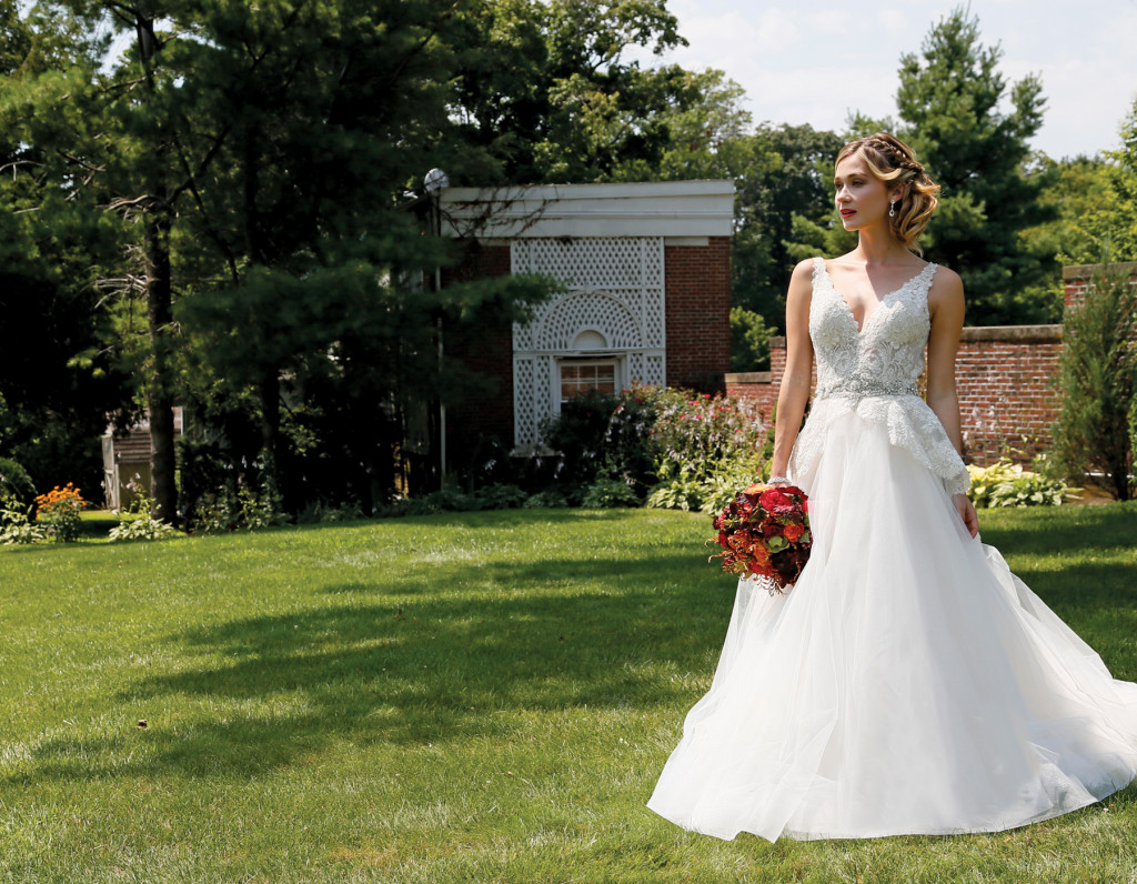 Bridal Gowns At Glen Cove Mansion In Long Island, New York