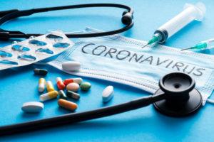 coronavirus self-care tips illustratoin