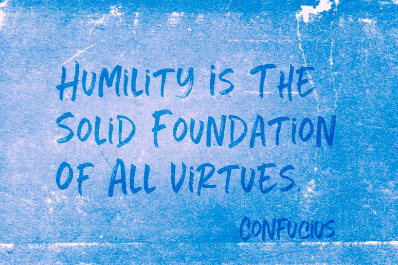 set aside prayer - humility quote
