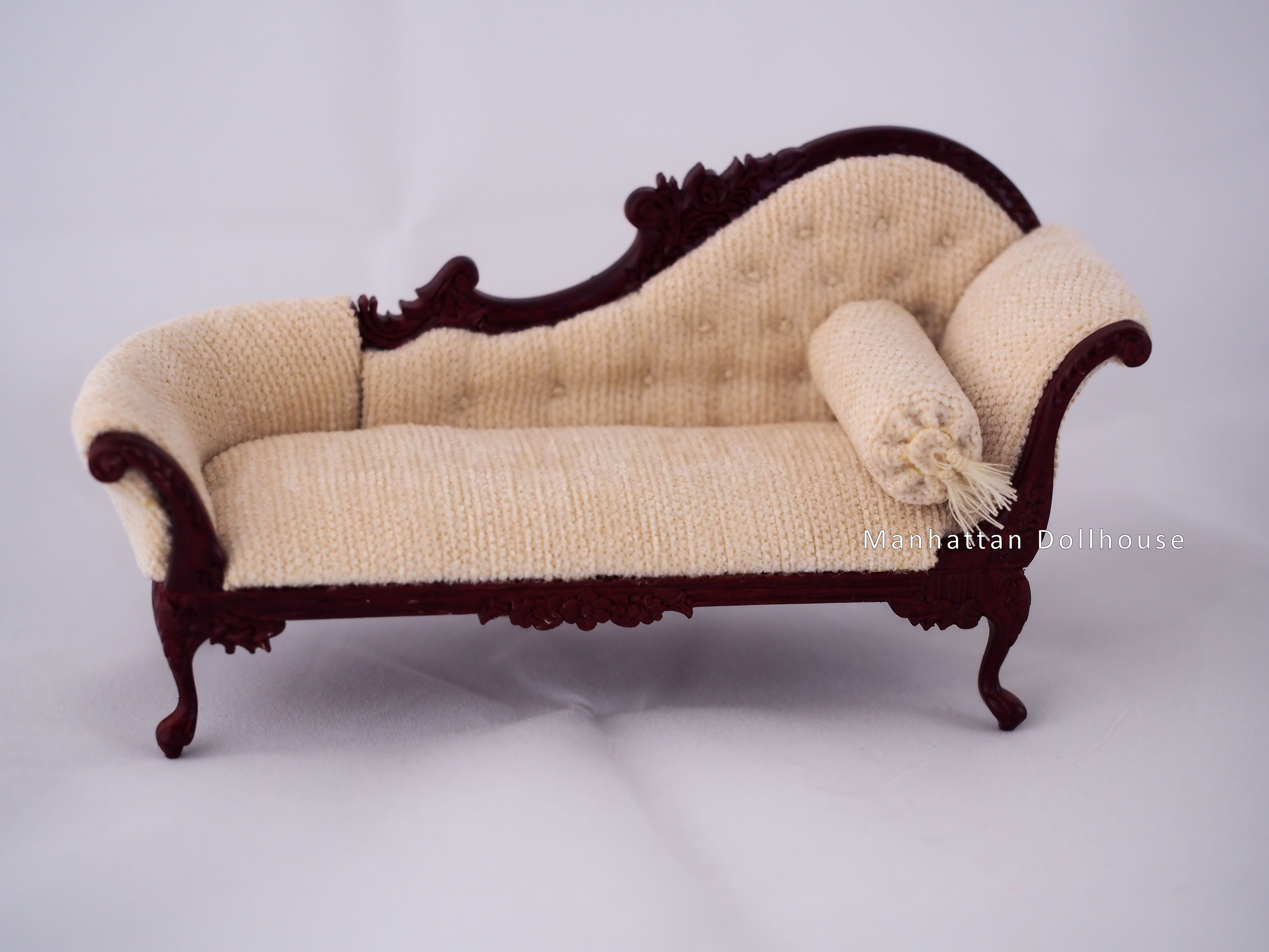 miniature sofa bed metal action cheap dollhouse set home the honoroak