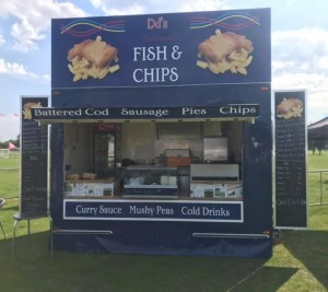 FISH AND CHIPS VAN HIRE