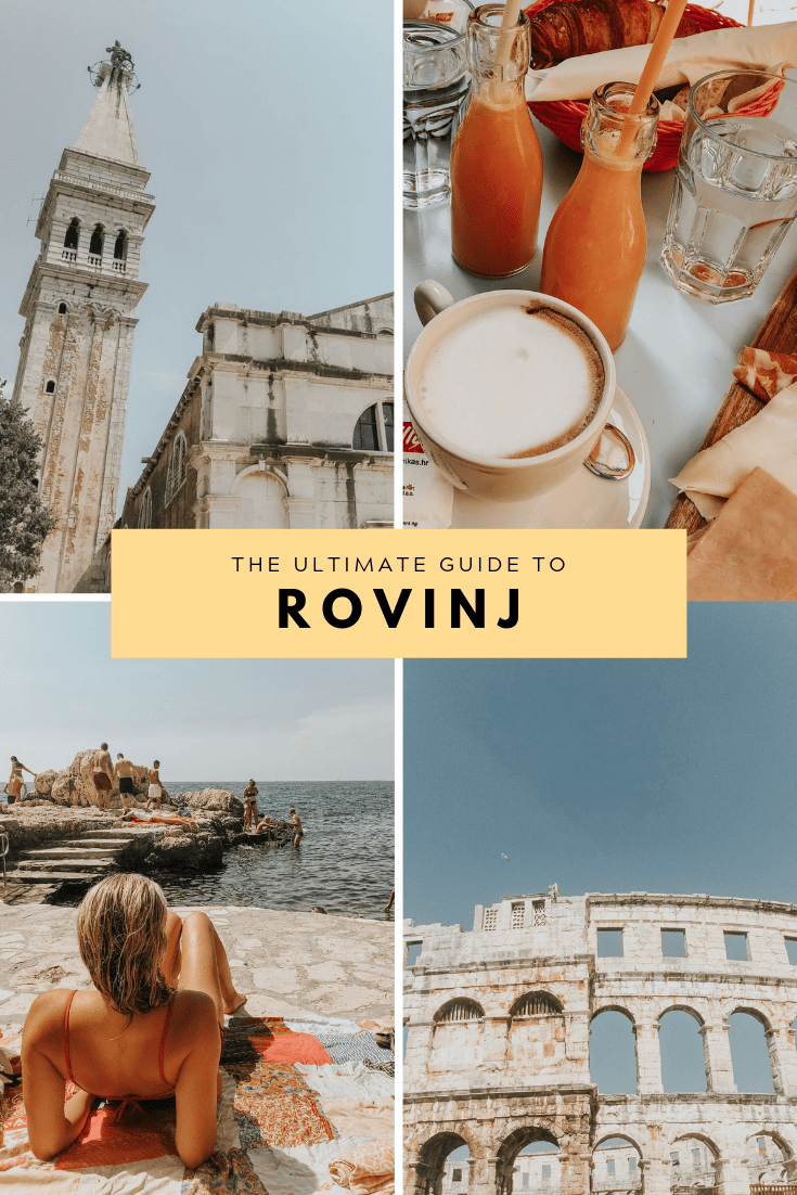 48 hours in lovely Rovinj - pin